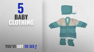 10 Best Selling Boutique Collection Baby Clothing [2018 ]: Montu Bunty New Born Sweater Boutique
