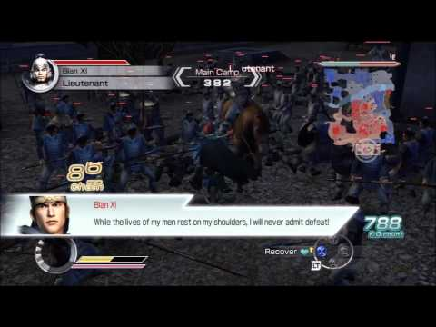 Dynasty Warriors 6 Empires - The Tale of Cai Jing - Episode 1 - Part 2 - Battle of Pu Yang