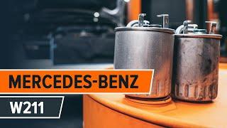 Cum se înlocuiesc filtru de combustibil la MERCEDES-BENZ E W211 TUTORIAL | AUTODOC