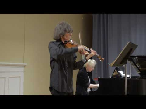 Bloomingdale School of Music 04/28/2017: Judith Olson and Rolf Schulte