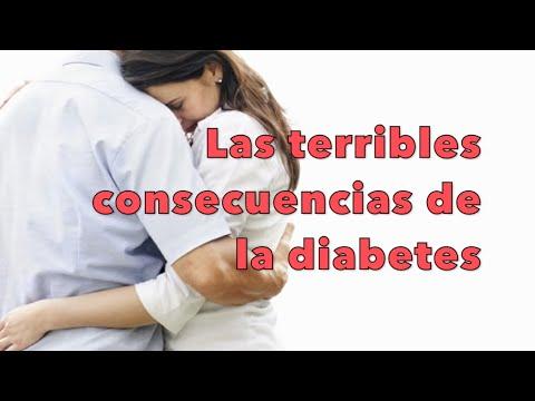 Consecuencias de la diabetes