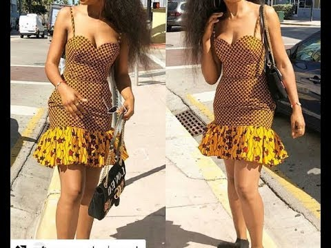 DIY HOW TO MAKE ANKARA TUBE BREASTCUT DRESS PATTERN 1 ... - photo#12