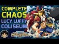 Walkthrough for Complete Chaos Lucy Luffy Coliseum [One Piece Treasure Cruise]