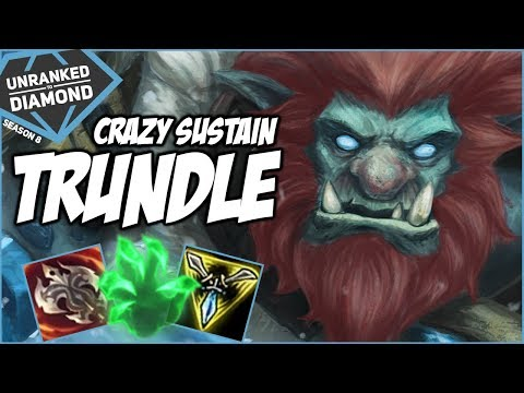CRAZY SUSTAIN TRUNDLE - Unranked to Diamond - Ep.3 | League of Legends