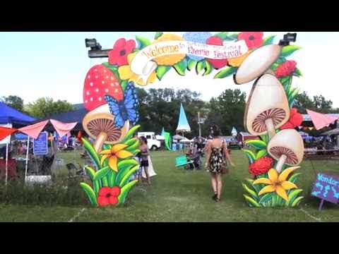 Berkshire Mountains Faerie Festival Costume Music Video 2016