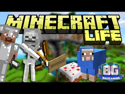 Achievement Unlocked - The Minecraft Life - Bro Gaming