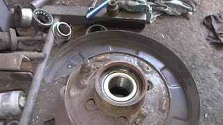 Замена подшипника задней ступицы Hyundai Tucson