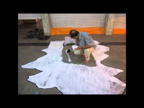 How to do 3D Street Art