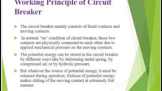 Circuit Breaker Basics and Types