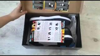 Обзор подарка Кроссовки heelys на роликах для дете