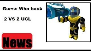 Roblox: Eu sou back & UCL 2VS 2