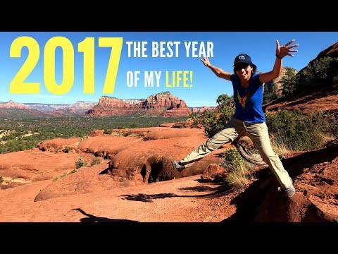 MY 2017 YEAR IN REVIEW! The Best Year of My Life!