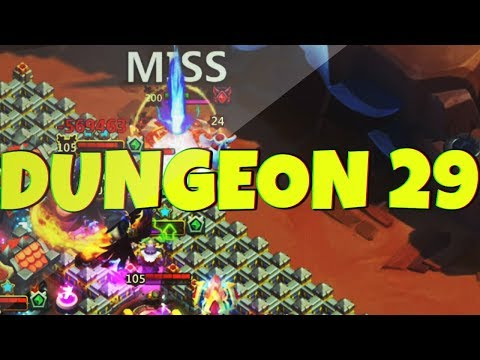 The FORGOTTEN TRIAL | DUNGEON 29 | CASTLE CLASH