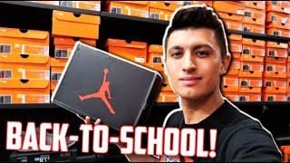 NIKE OUTLET! Back to School Sneaker Shopping vlog!