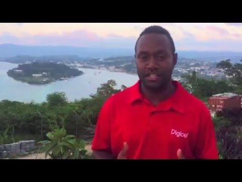 How do you get started with LTE  Digicel Vanuatu