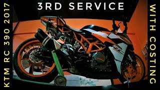 THINGS TO KNOW BEFORE SERVICE OF KTM RC 390 2017 | Dragstar MotoVlogs |