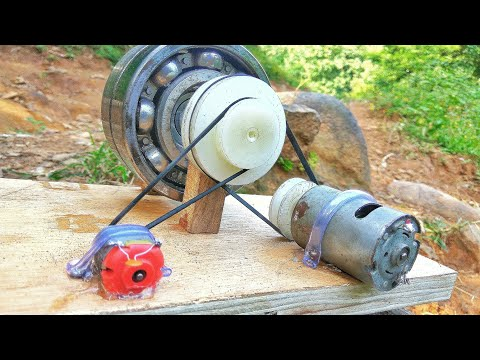 How to make 100% free energy generator without battery with