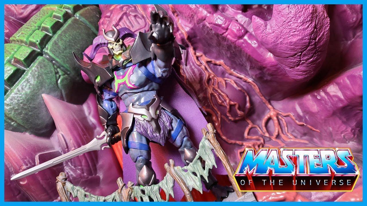 Masters of the Universe Masterverse REVELATION SKELEGOD Action Figure Review