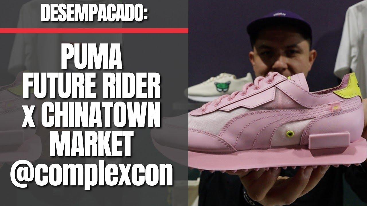 Desempacado: Puma Future Rider Custom X Chinatown Market