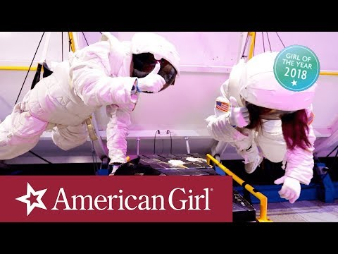 A Day in the Life of Luciana at Space Camp | Luciana Vega: Girl of the Year 2018 | American Girl