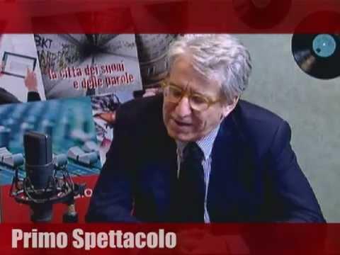 """Luigi Manconi ospite di """"Primo Spettacolo"""""""