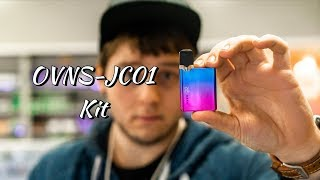 OVNS JC01 Kit Review. JUUL Box Mod?! This Little Device Kills The JUUL!