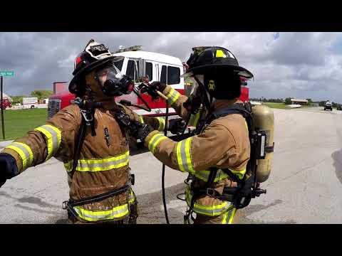 Palm Beach County Fire Rescue Post Fire On Scene