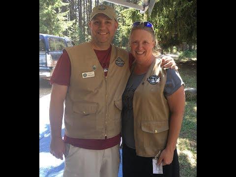 Camp Hosting at Farragut State Park in Athol, Idaho