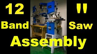 "Benchtop Bandsaw: 12"" Bench Bandsaw Assembly Steel City 50112"