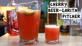 Cherry BeerGarita Pitcher
