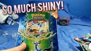 Pokemon TCG - Xerneas EX Tin Opening