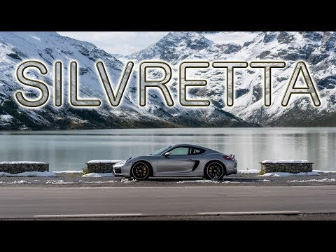 Silvretta Early Morning Descent - Porsche Cayman GTS
