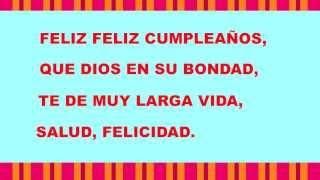 La Letra de una canción religiosa de cumpleaños - Happy Birthday