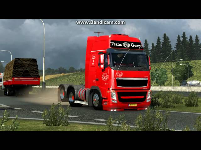 ETS2 Mod eixo erguido - BETA - Sem link de download. Videos De Viajes