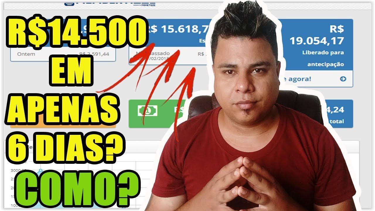 Como Ganhar Dinheiro na Internet em 2018? R$14.500,00 em Apenas 6 Dias + 3 Dicas