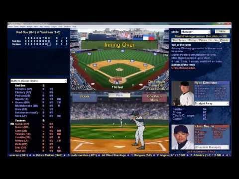 Baseball Mogul 2014 - Gameplay