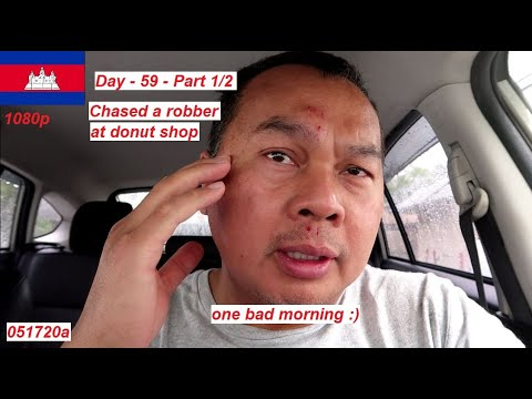 Cambodian In America (Day 59 - Helped Sedah Catch A Thief )