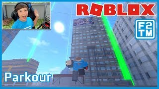 Be a Ninja in Roblox Parkour | Fraser2TheMax | Roblox Kid Gaming