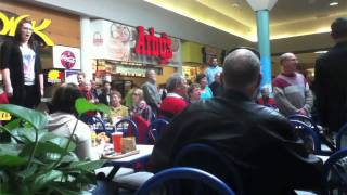 Christmas Food Court Flash Mob, Hallelujah Chorus - Must See! thumbnail