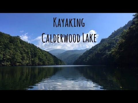 Paddling Calderwood Lake