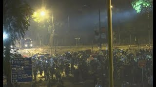 香港现场直击 - 香港理工大学及各区的示威场面