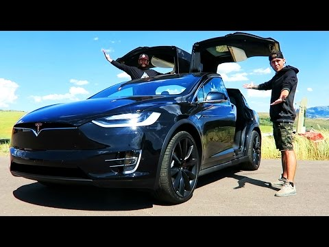 Thumbnail: BIGGEST GIVEAWAY EVER!! BRAND NEW TESLA MODEL X