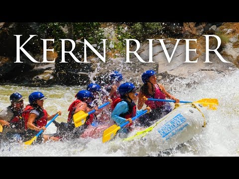 Sierras White Water Rafting In 4K   Overnight Trip On The Kern River In California