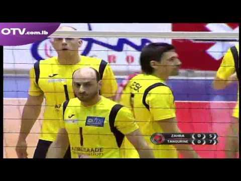 TV  24.03.2017 ZAHRA-TANNOURINE 2-3 VOLLEYBALL LEBANON LEAGUE SEASSON 2016/2017