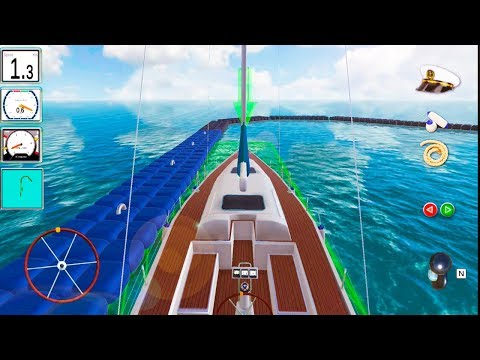 Dock Your Boat 3D - Realistic Boat Driving Simulator - Android Gameplay