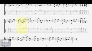 Chạm Tay Vào Điều Ước (Cao Thái Sơn)  ST: Nguyễn Hồng Thuận guitar solo tab by D U Y