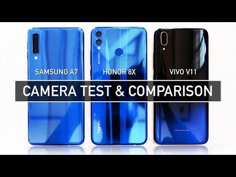 Samsung A7 2018 / Honor 8X / Vivo V11 CAMERA TEST Sample