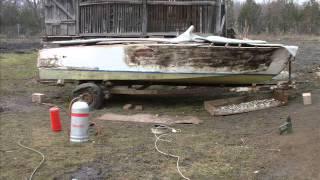 Mahagony boat restoration Part 1