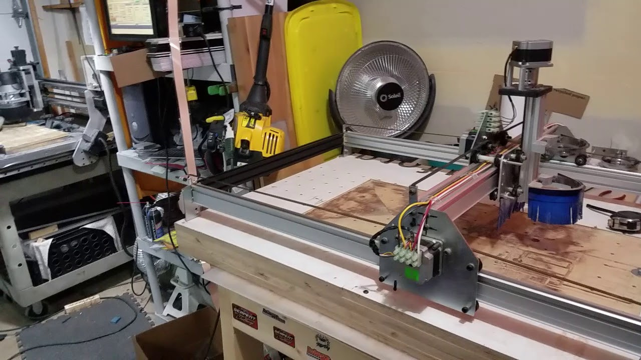 Shapeoko CNC Router rebuild / reborn series with benbox