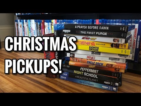 Christmas 4K and Blu-ray Pickups!